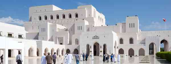 The Royal Opera House in Muscat (Dreamstime)