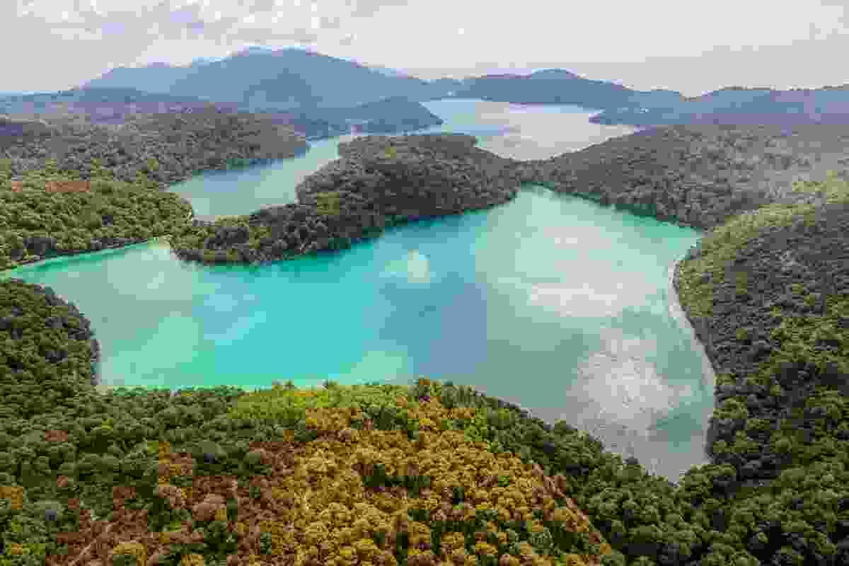 The islands forming Mljet National Park, Croatia (Dreamstime)