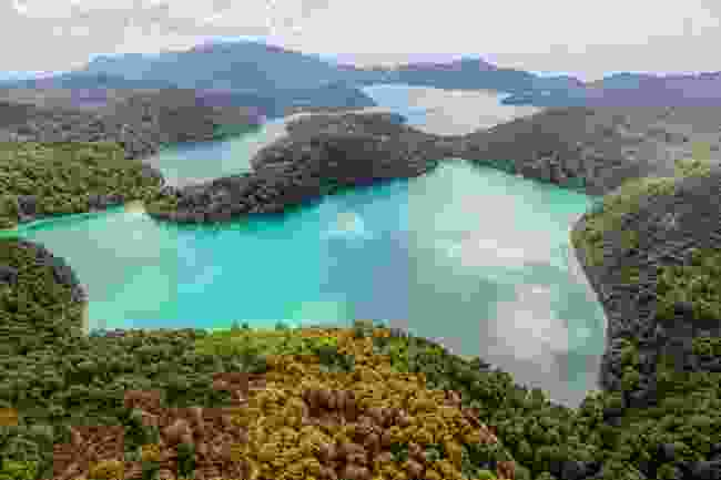 The islands forming Mljet National Park, Croatia (Dreamstime)
