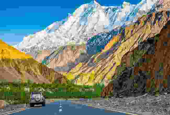 Rakaposhi Peak on the Karakoram Highway, Pakistan (Emma Thomson)