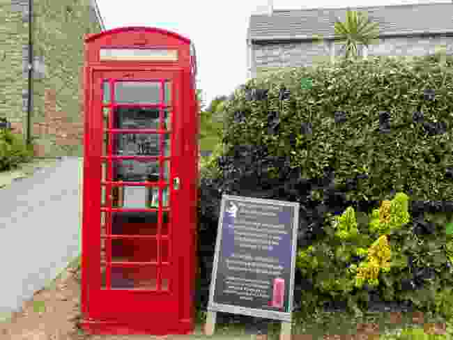 The tiny museum on Bryher is squeezed into a red phone box (Wanderlust)