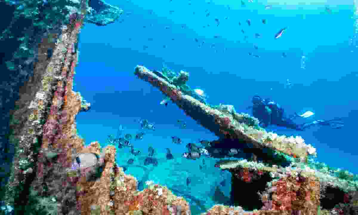 Enjoy underwater treasures in Greece