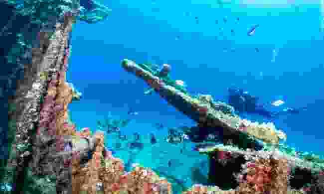 Enjoy underwater treasures in Greece