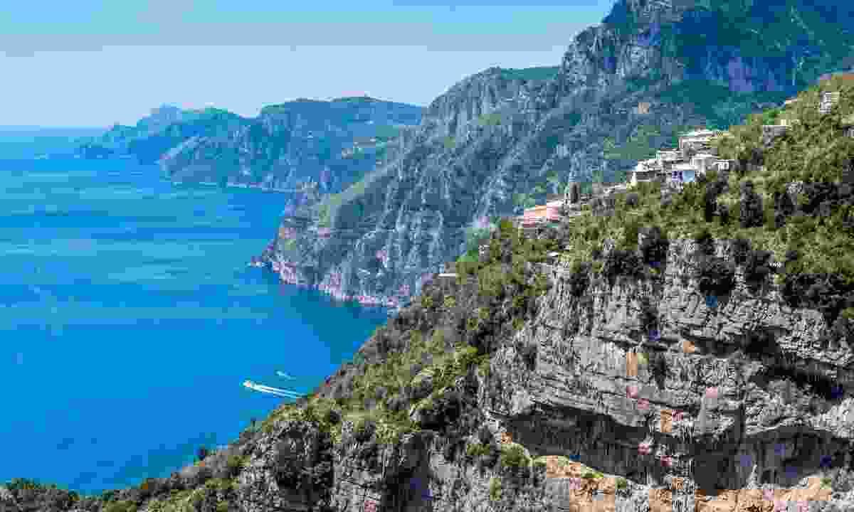 The Sentiero degli Dei Amalfi Coast, Italy