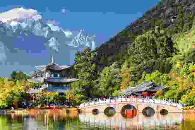 Jade Spring Park, Lijiang, Yunnan province, China (Shutterstock)