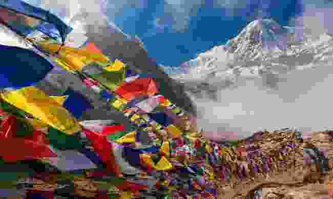 People are in lockdown in Nepal (Shutterstock)