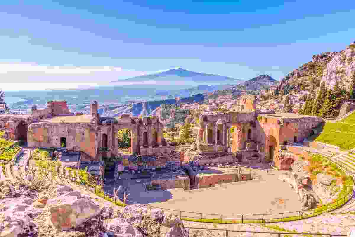 Taormina Theatre and Mount Etna (Shutterstock)