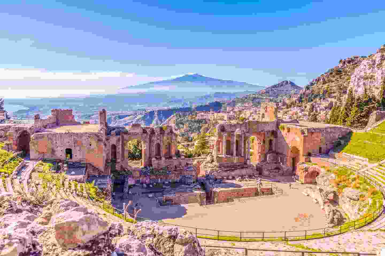 Taormina Theatre and Mount Etna (Shutterstock)