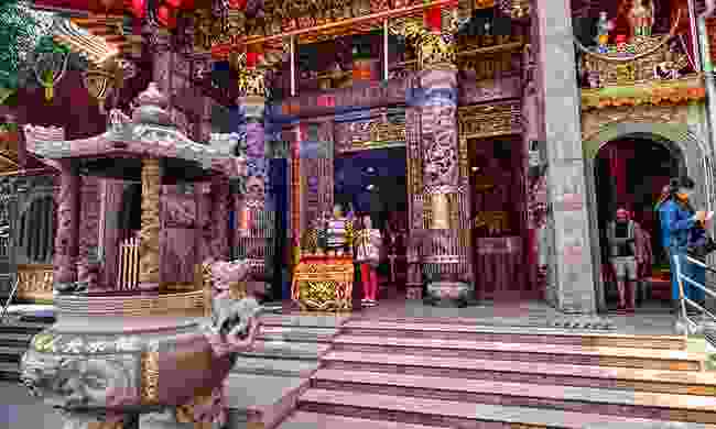 Lady Linshui's Temple in Tainan (Shutterstock)
