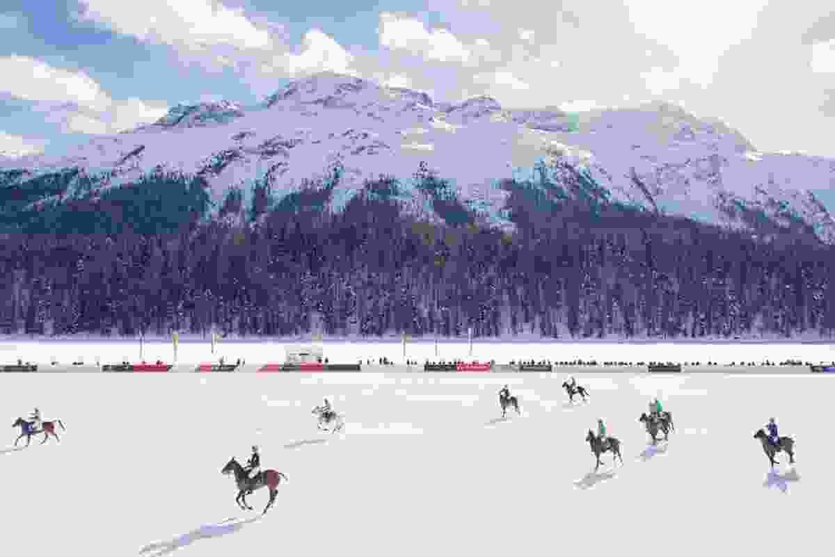 The Field, St Moritz, France (Gray Malin)