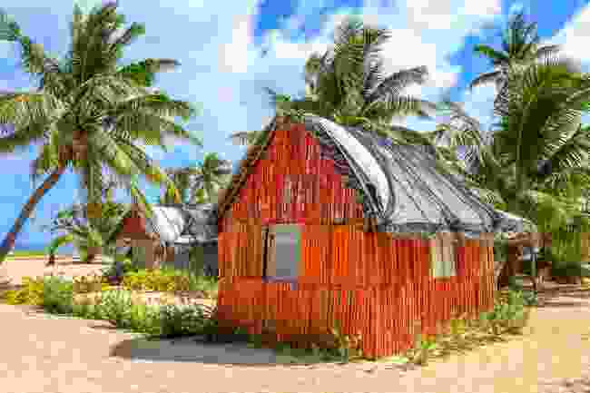 A traditional house in Uovela Island, Tonga (Shutterstock)