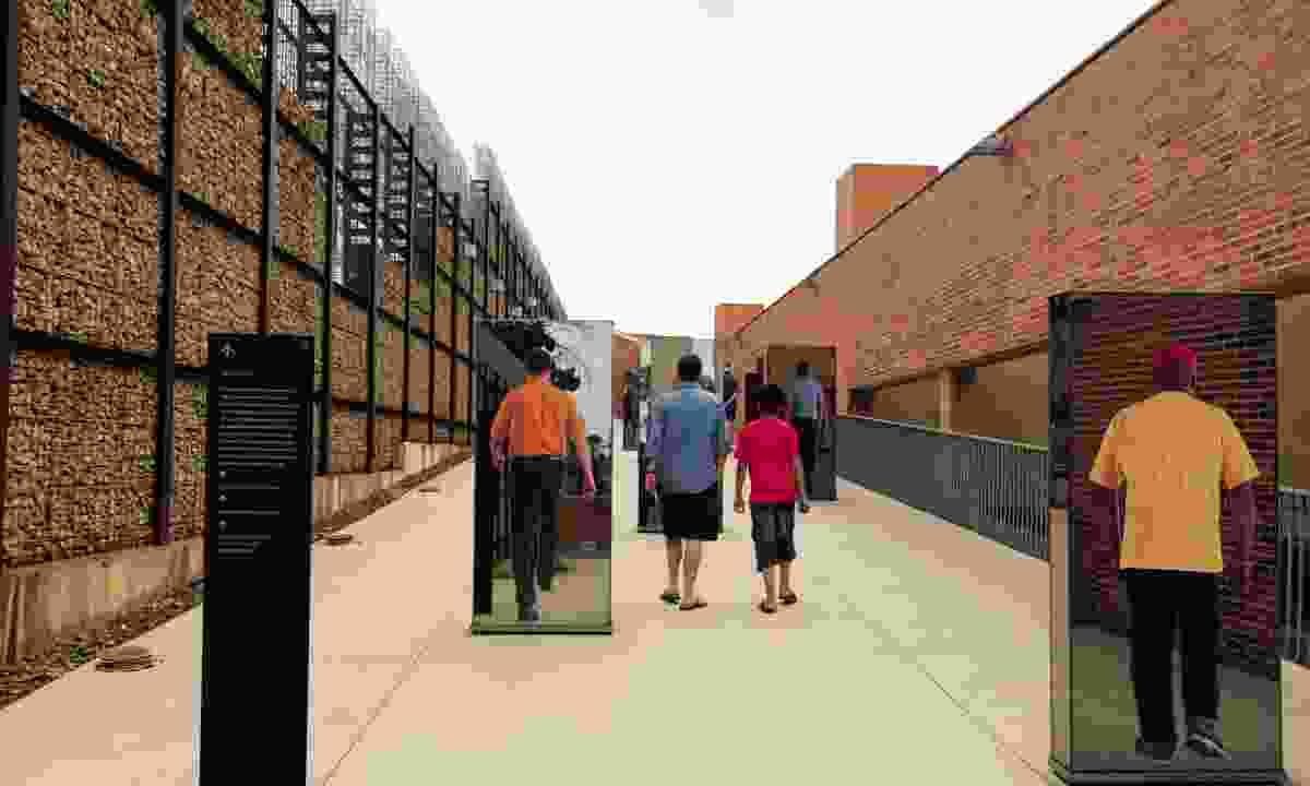 Johannesburg's Apartheid Museum (Ariadne Van Zandbergen)