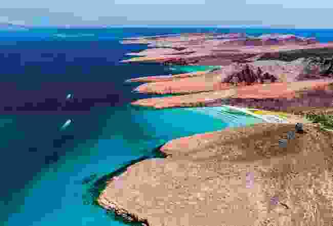 Baja California Sur from above (Shutterstock)