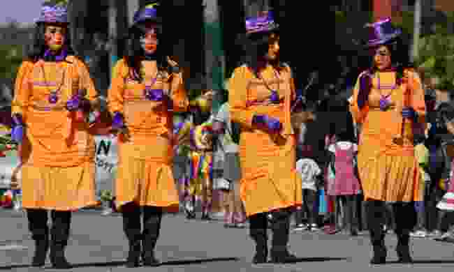 Here come the girls, French Guiana (Dreamstime)