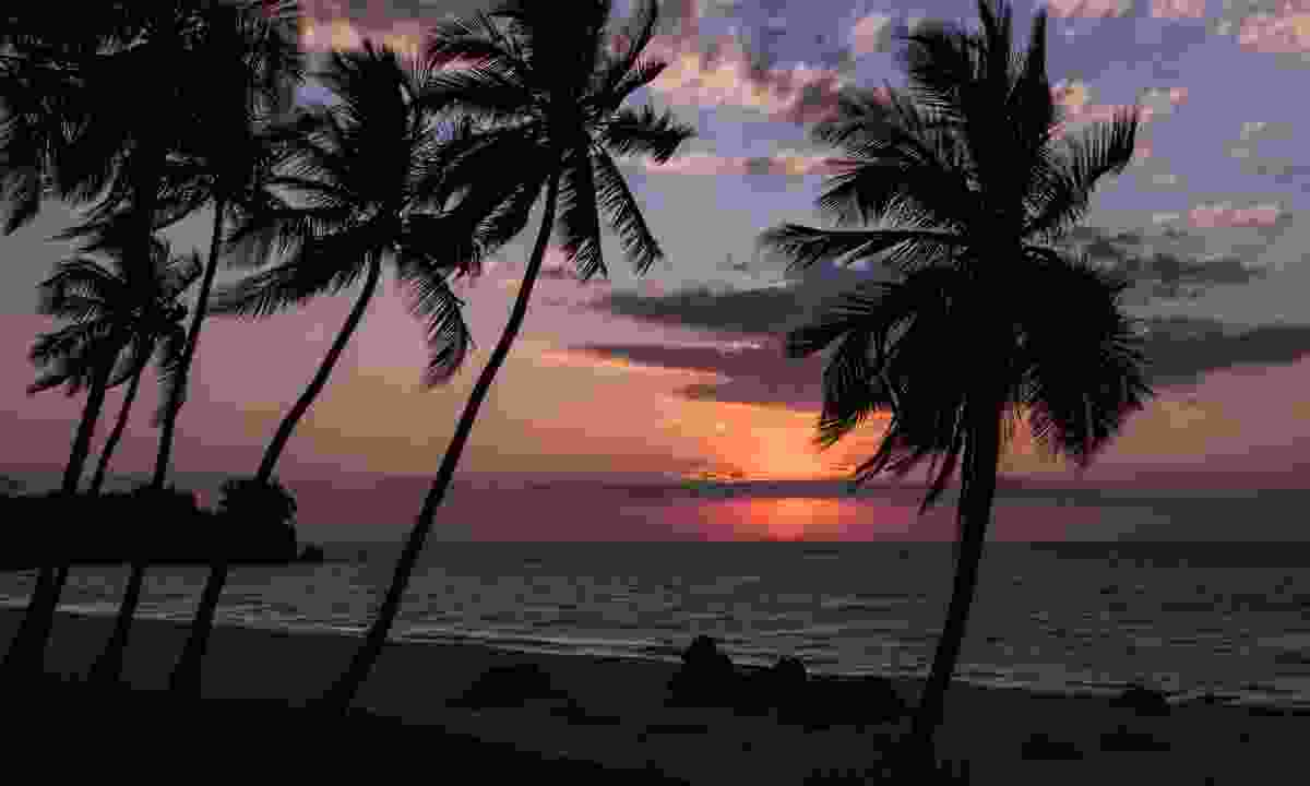 Sunset at Anjajavy Resort (Dreamstime)