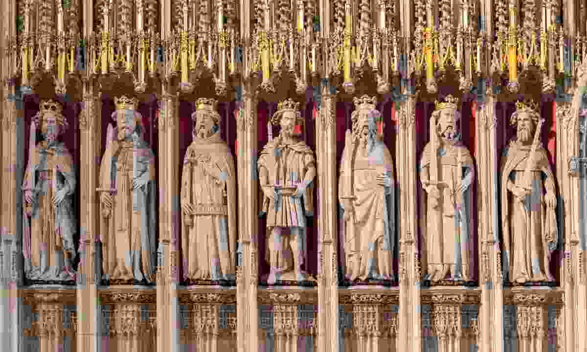 The Kings Screen in York Minster (Shutterstock)