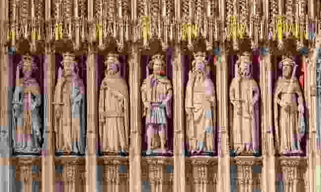 The Kings Screen in York Minster (Shutterstock)