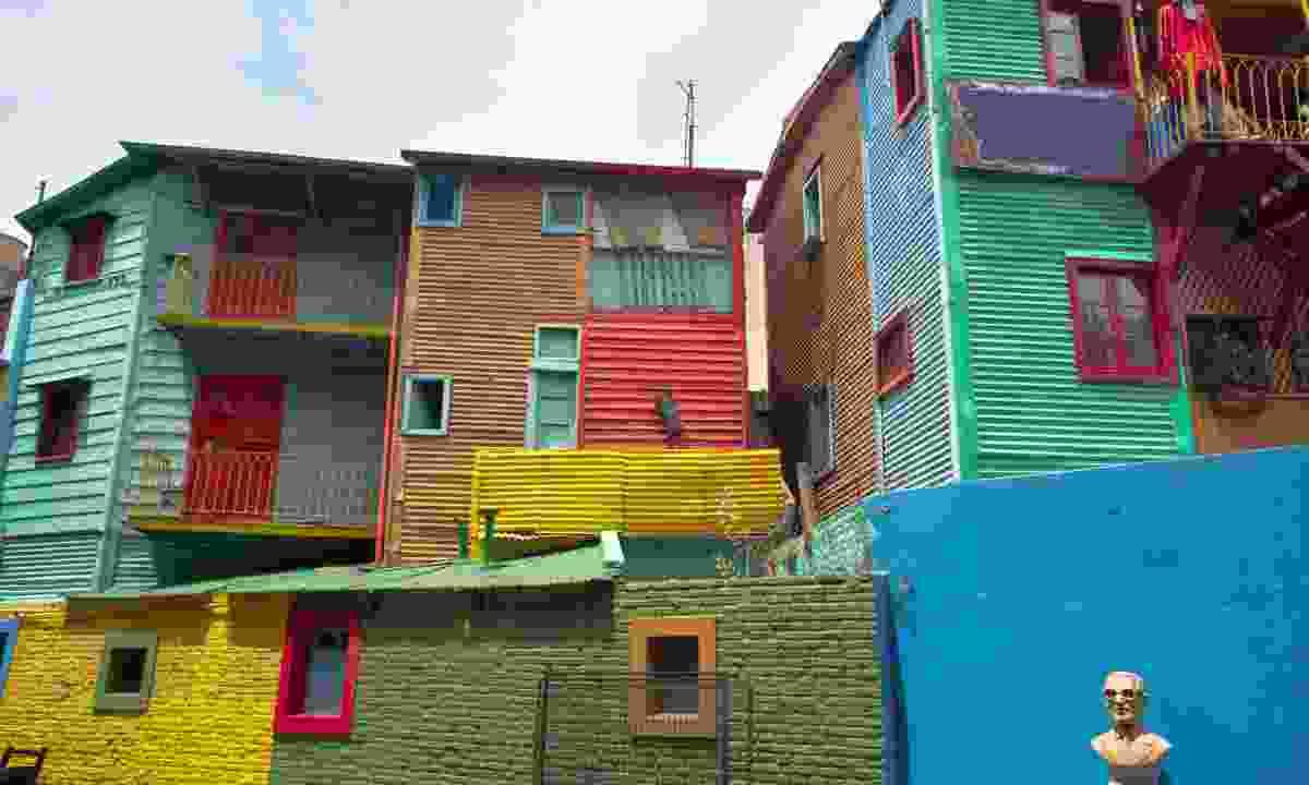 Caminito street in La Boca (Dreamstime)