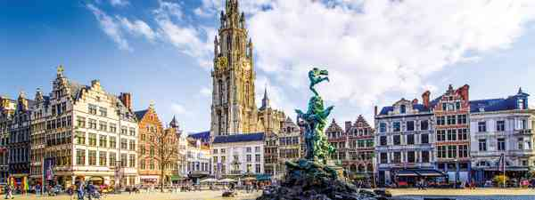 The gothic Grote Markt stands at the centre of Antwerp's spectacular medieval centre (Dreamstime)