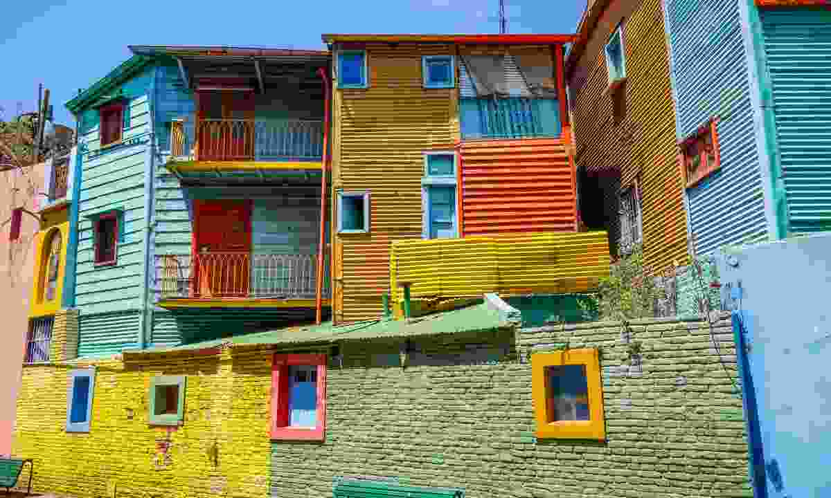 The colourful houses of a neighbourhood in Buenos Aires (Dreamstime)