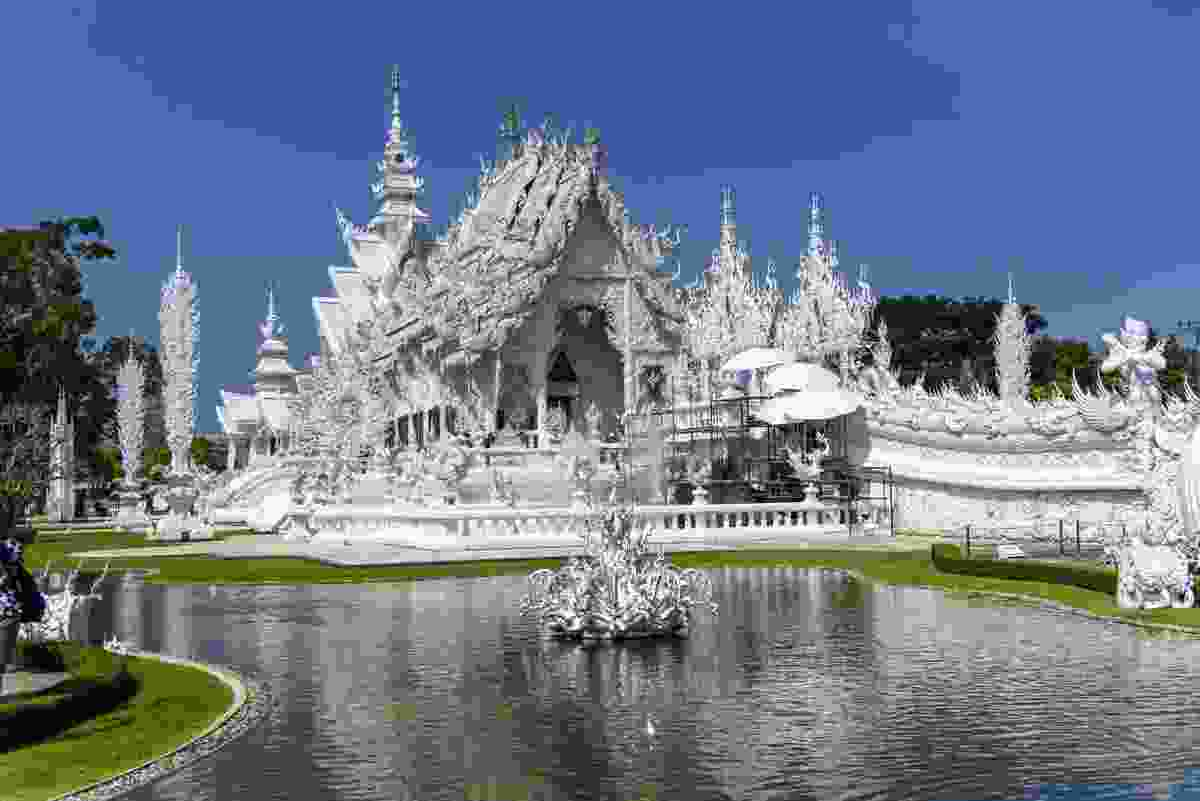 Wat Rong Khun, better known as the 'White Temple' (Sanghamitra Sarkar)