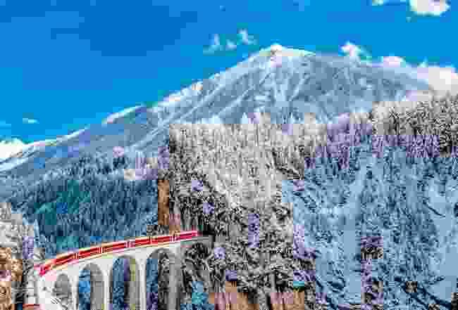 Glacier Express, Switzerland (Shutterstock)