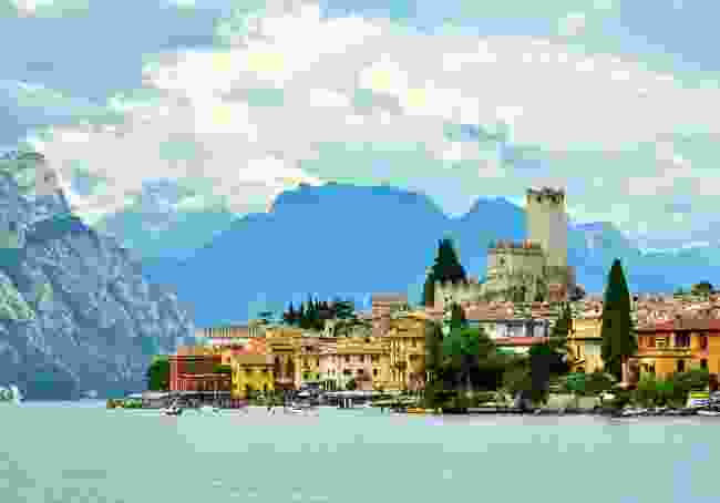A view of Lake Garda, sans lake monster, in Italy (Shutterstock)