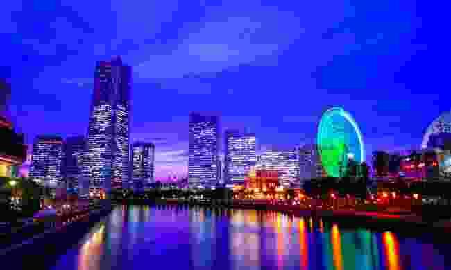 Kanagawa at night (Shutterstock)