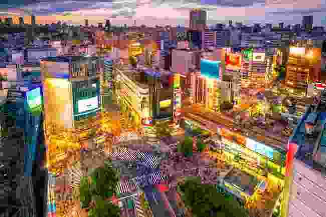 Shibuya Crossing, Tokyo, Japan (Shutterstock)