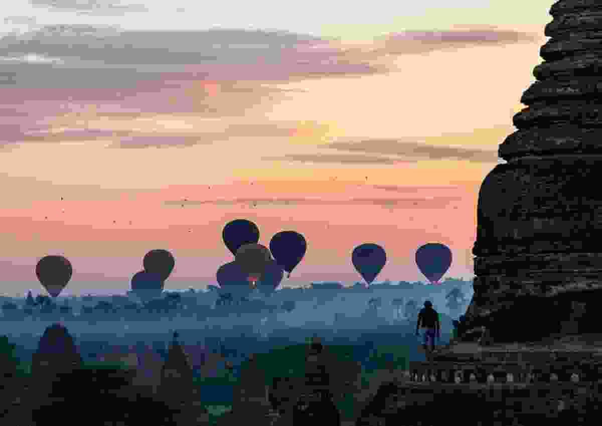 Balloons over Bagan: Bagan, Myanmar (Thomas Lipp)