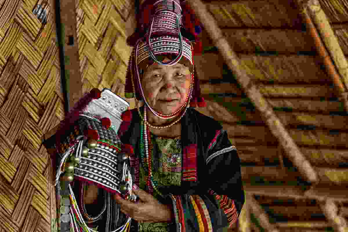 The Akha are an indigenous hill tribe who live in small villages at higher elevations in the mountains of Thailand (Sanghamitra Sarkar)