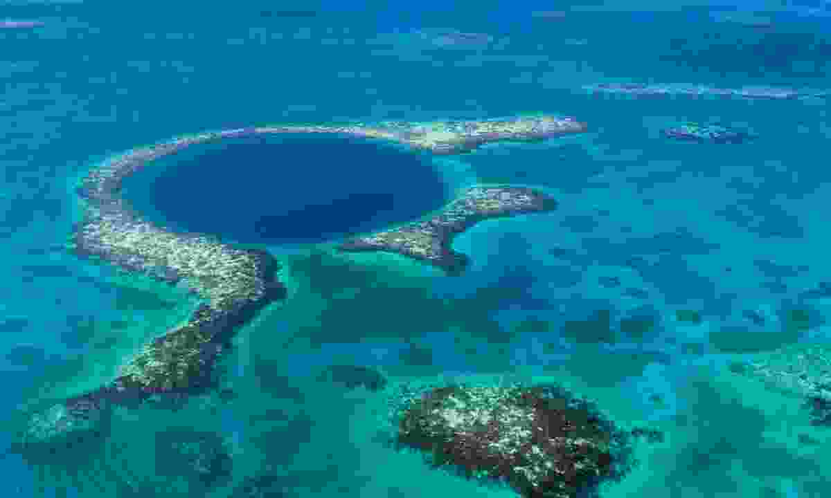 Belize's reef is the second-largest in the world (Dreamstime)