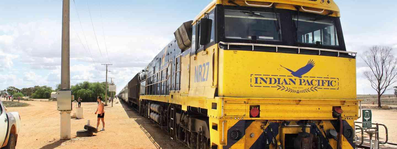 Indian Pacific train (Ben Lerwill)