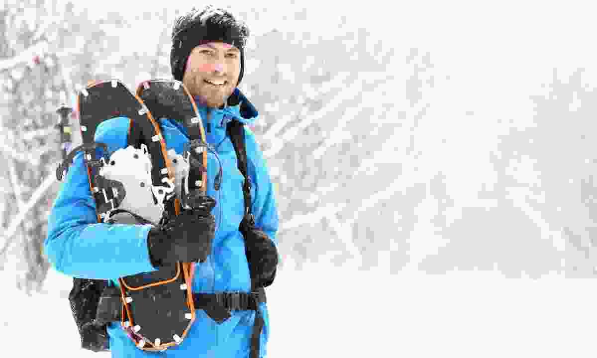 Snowshoeing in winter (Dreamstime)