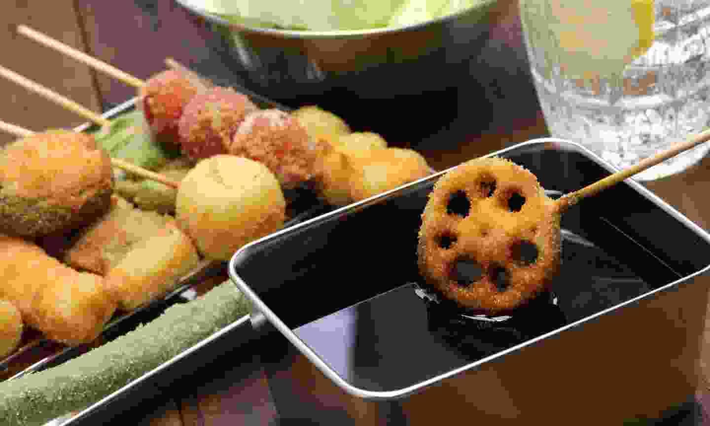 Kushiage - deep fried 'things' (Dreamstime)