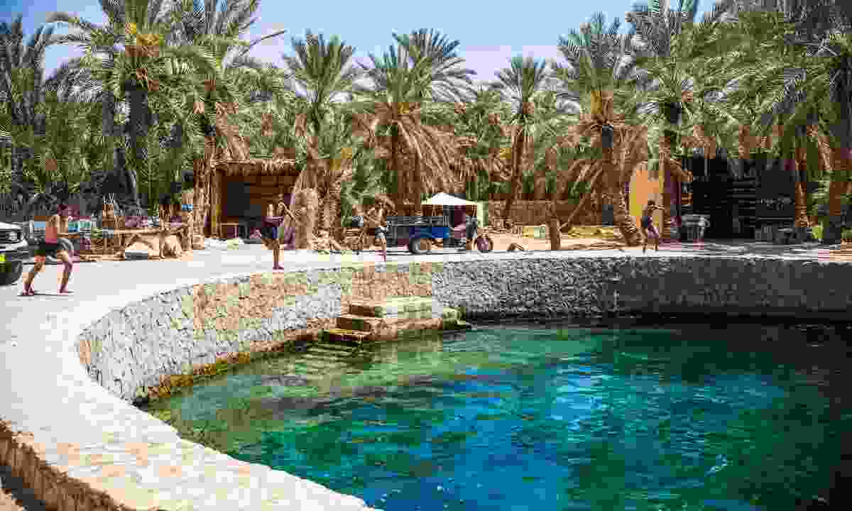 Cleopatra's Pool at Siwa Oasis (Shutterstock)