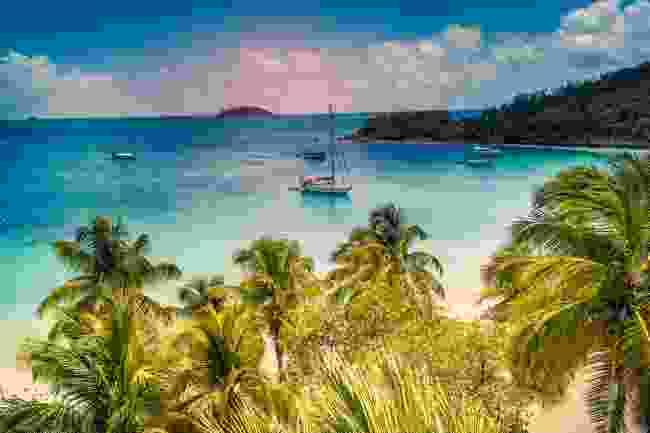 A remote cove in the Grenadines (Shutterstock)