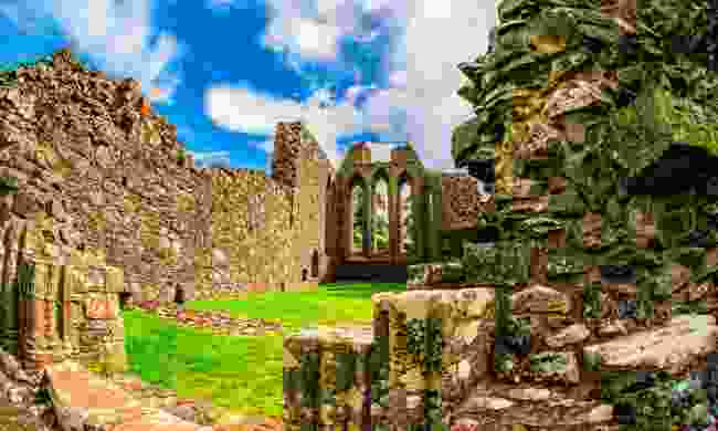 Monastery ruins in Downpatrick (Shutterstock)