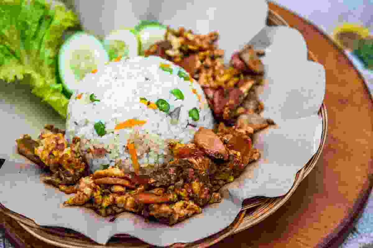 Nasi Gila from Jakarta (Shutterstock)