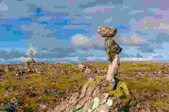 Limestone rocks in Orton, Cumbria (Shutterstock)