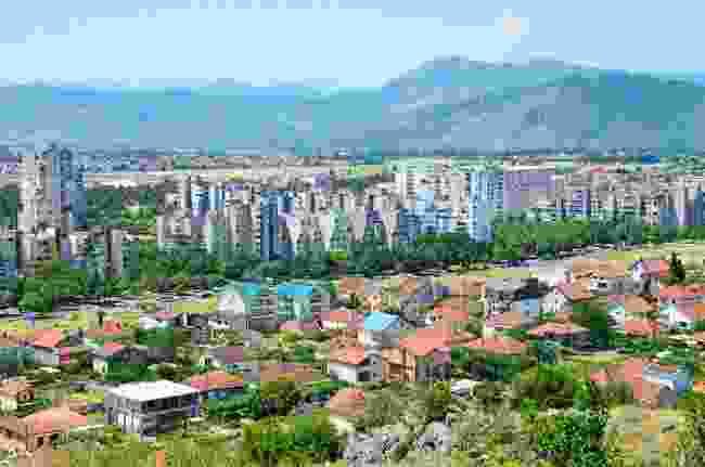 Podgorica, Montenegro's capital (Shutterstock)