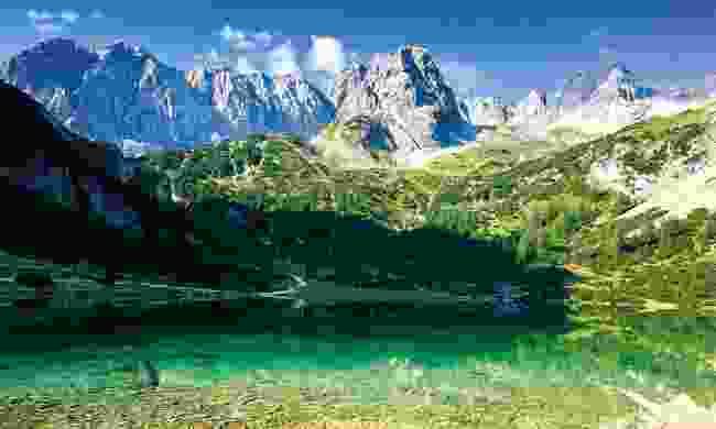 Seebensee lake (Tiroler Zugspitz Arena)
