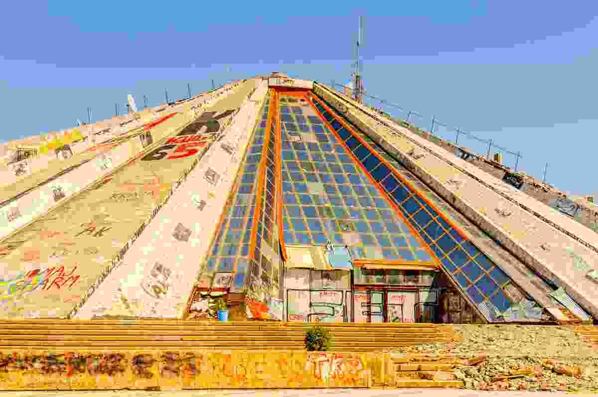 The Pyramid of Tirana, Albania (Shutterstock)