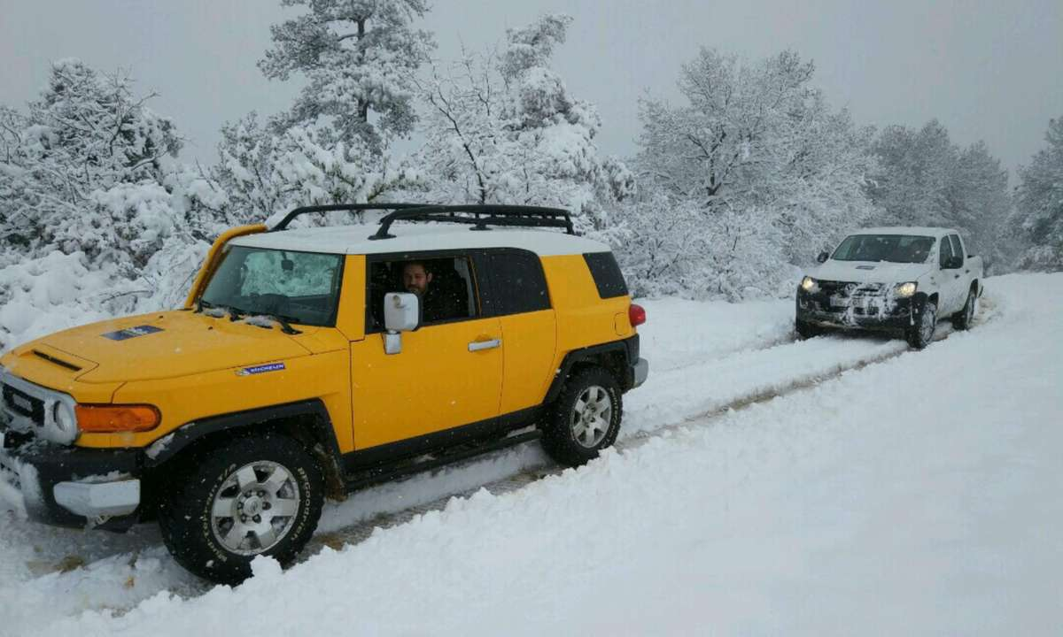 4x4 driving (Basella Experience)