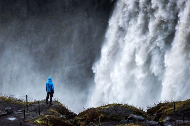 Деттифосс  Водопады Исландии.