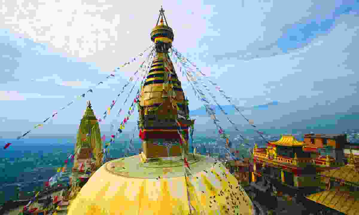 Put your money where it's needed, when its needed: visit earthquake recovering Nepal (Dreamstime)