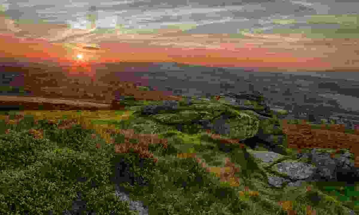 Sunset over Dartmoor (Dreamstime)