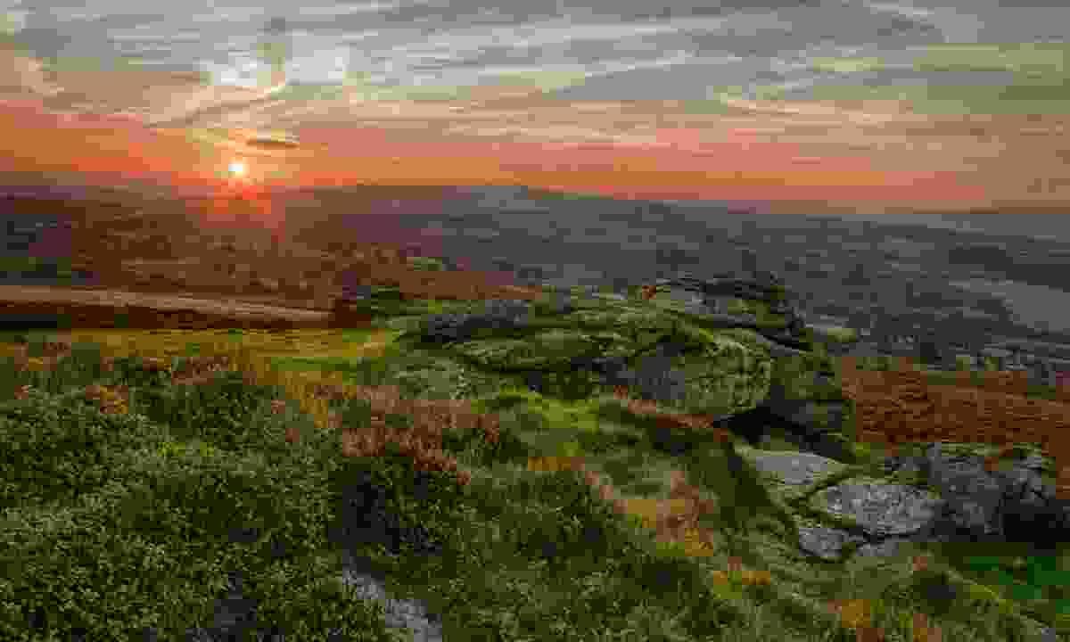 Sunset over Dartmoor (Dreamstime)