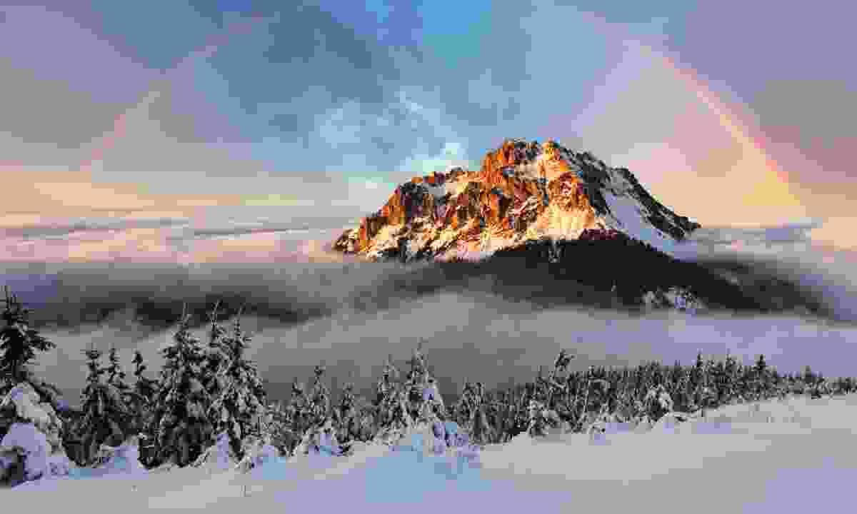 Sunset over Mount Fatra (Dreamstime)