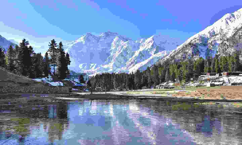 Nanga Parbat peak, seen from Fairy Meadow (Shutterstock)